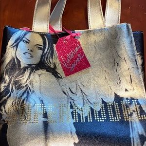 "VS ""leather"" small tote NWT"